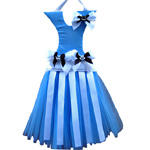 Alice In Wonderland inspired Tutu Hair Bow Holder