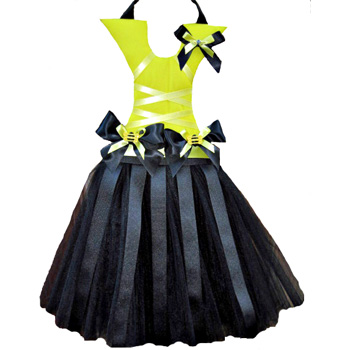 Bumble Bee Tutu Hair Bow Holder