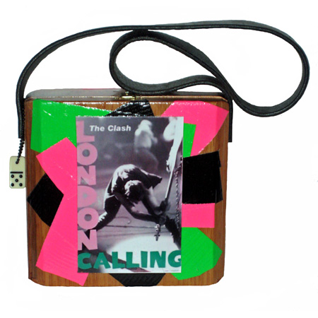 """The Clash"" Cigar Box Purse"