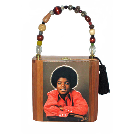 "Vintage ""Michael Jackson"" Cigar box Purse"