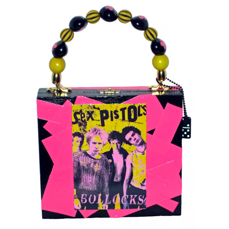 """Sex Pistols"" Cigar Box Purse"