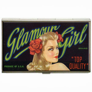Glamour Girl Business Card Vanity Case